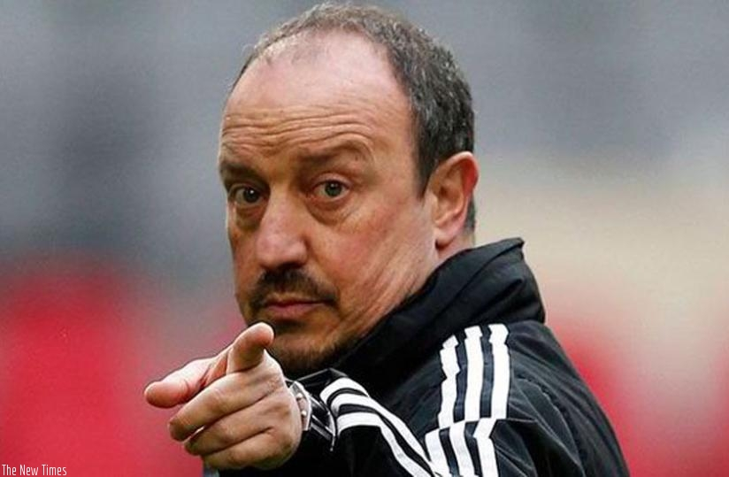 Benitez in top frame for Toon job. (Net photo)
