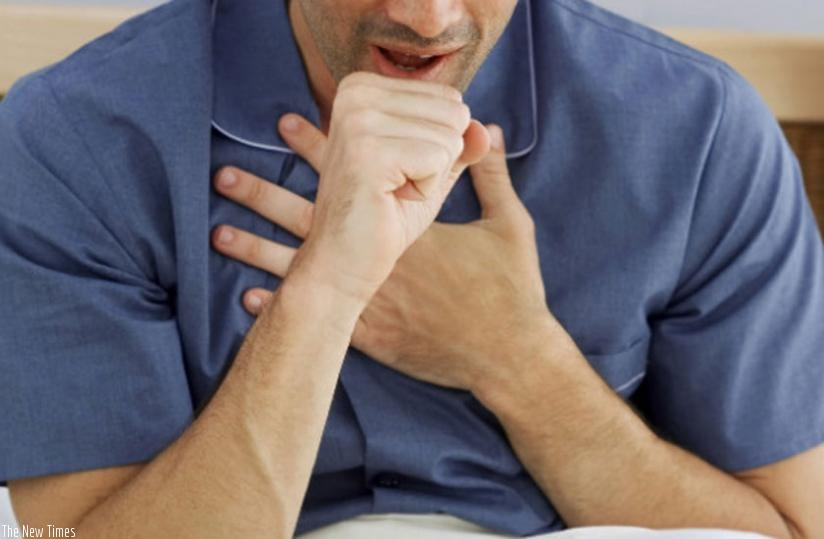 Cough that lasts more than two weeks could be a sign of tuberculosis. (Net photo)
