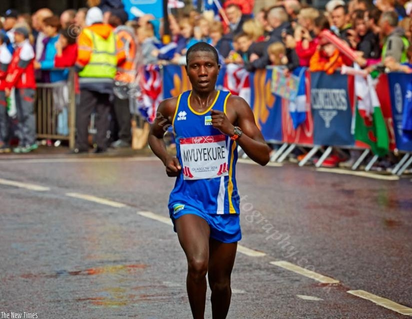 Jean Pierre Mvuyekure has twice finished third in the Pyongyang Marathon. (File)
