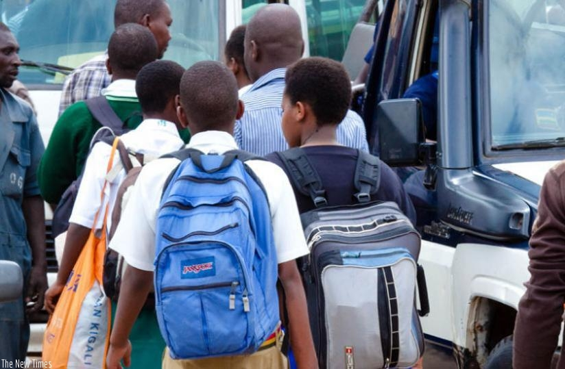As students returned to school for the second term this week, the government banned shanty housing that is often used by high school students. (File)