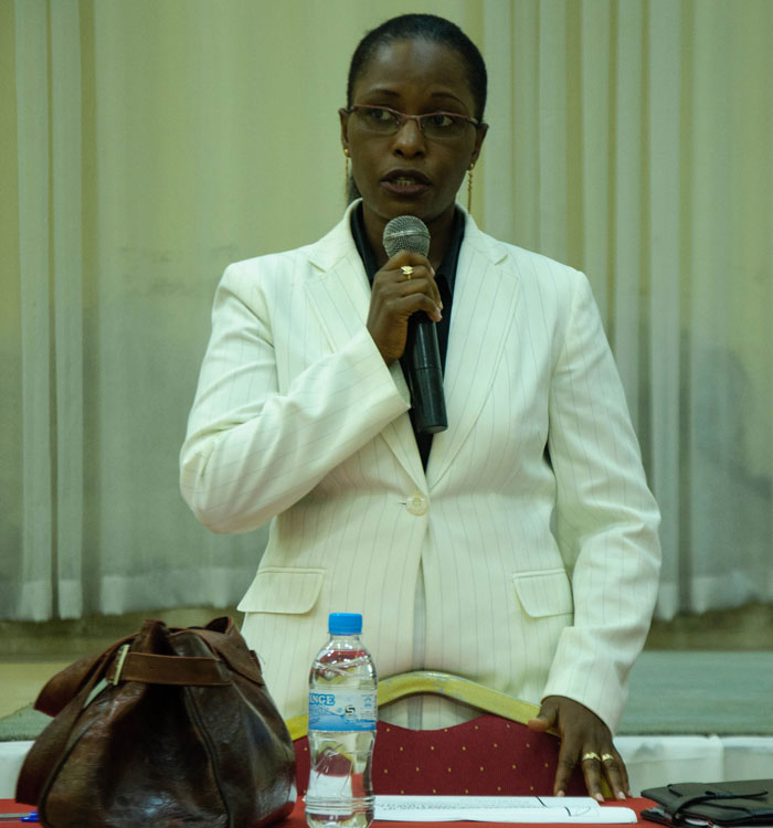 1461877618The-Permanent-Secretary-in-the-Ministry-of-Justice-Isabelle-Kalihangabo-opens-the-workshop-yesterday-at-Hilltop-Hotel