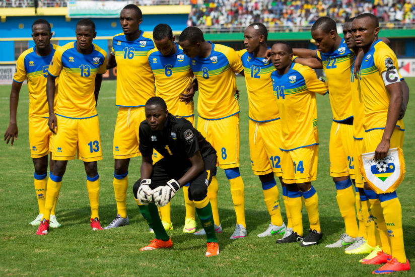 Amavubi have noted moved in the latest FIFA and CAF rankings released on Thursday. (Timothy Kisambira)