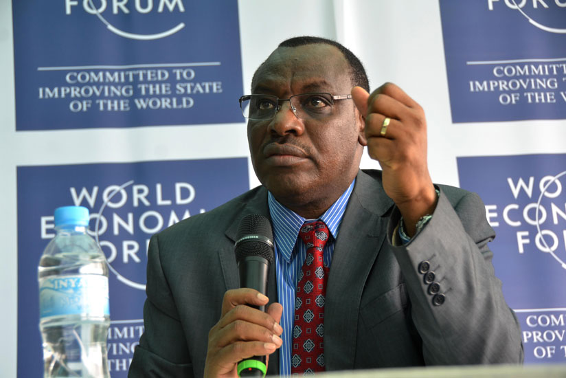 1462833672Claver-Gatete,Minister-of-Finance-explains-how-over-1200--leaders-will-attend-World-Economic-Forum-on-Africa-(Sam-Ngendahimana)