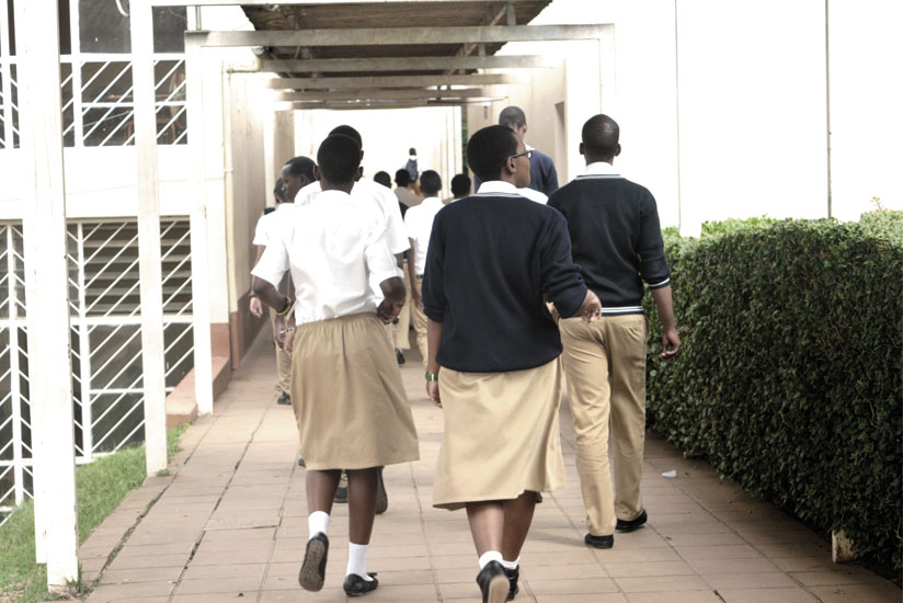 School uniforms need to be maintained clean at all times. (Solomon Asaba)