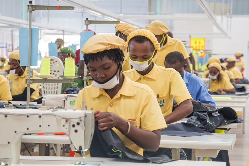 The factory gives jobs to mostly young people. (Faustin Niyigena)
