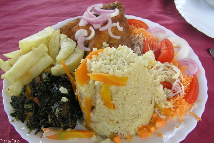 Lack of creativity in food presentation could affect customers' appetite. (Net photo)