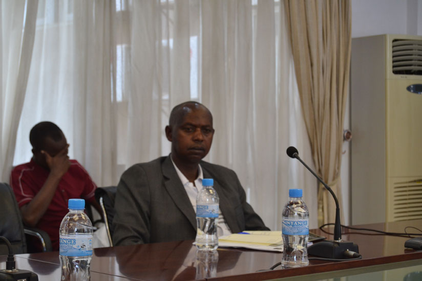 1470953721Augustin-Katabarwa,-the-chairman-of-the-National-Cooperative-Confederation-of-Rwanda-(NCCR),-during-a-press-conference-yesterday