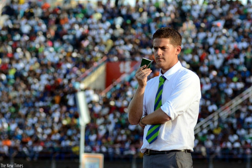 McKinstry took over the Amavubi job when the team was ranked 68th globally and now Rwanda is ranked 121st. (File)