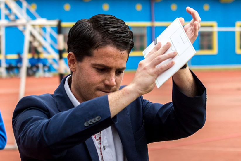 Johnny McKinstry signed a two-year contract extension in March but it didn't stop him being sacked. / Timothy Kisambira