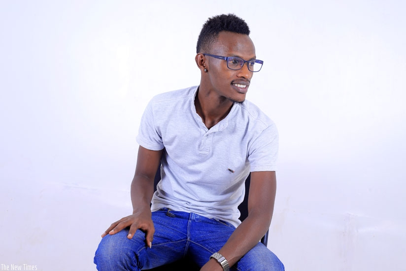 Hakizimana says artistes should change their attitude if  the music industry is going to succeed. (Courtesy photo)