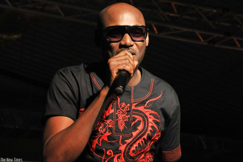 Nigerian music star 2Face Idibia set to perform in Kigali on September 23. (Net photo)