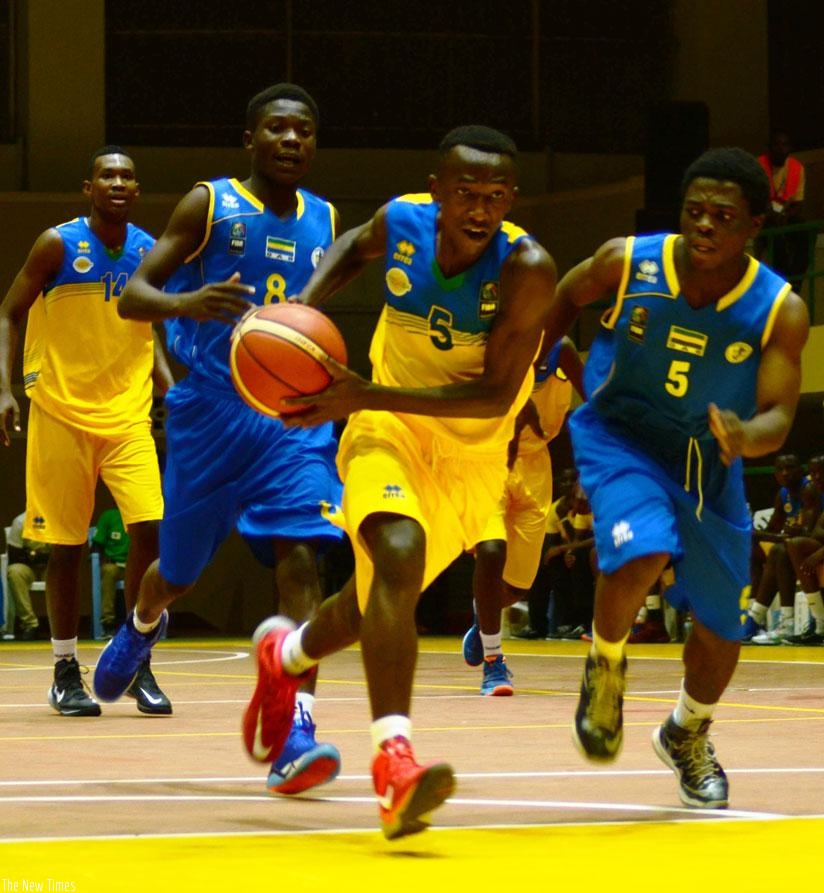 Nshobozwabyosenumukiza, was one of Rwanda's top performers during the 2016 FIBA-Africa U18 Men's Championships held in Kigali. (File)