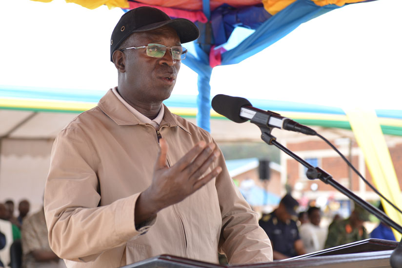 Prime Minister Anastase Murekezi officiates at the launch of the ninth edition of Unity and Reconciliation Week in Ngororero District on Saturday. The premier said the country has ....