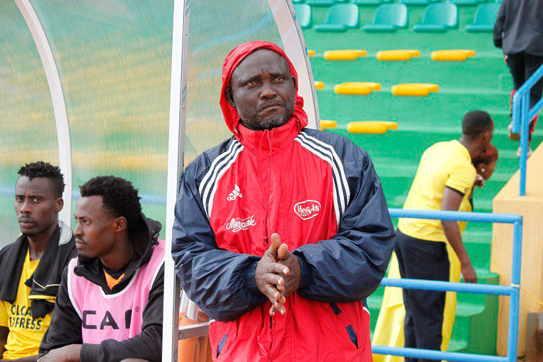 Mukura head coach, Godfroid Okoko. / File