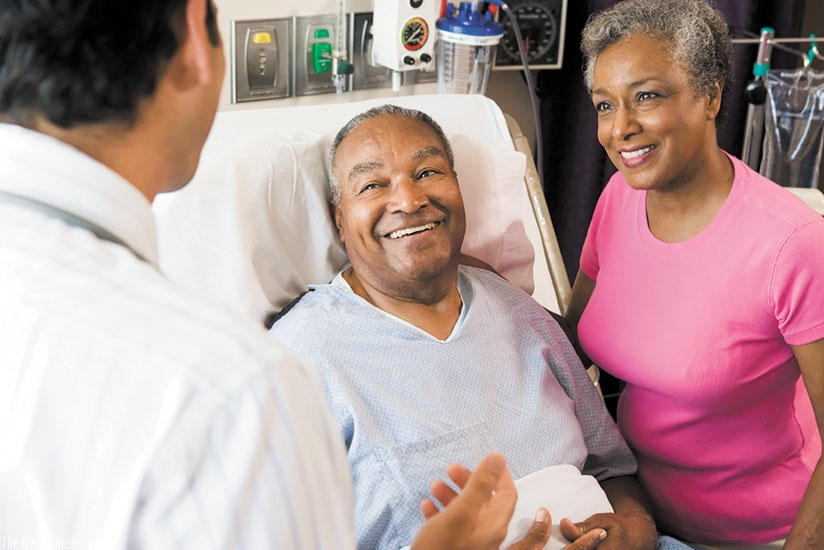 Palliative care provides both physical and pychological support. / Internet photo.