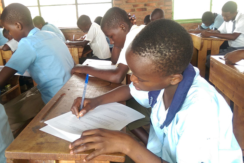 Preparing early helps students avoid last minute reading and cases of examination fever. / Solomon Asaba