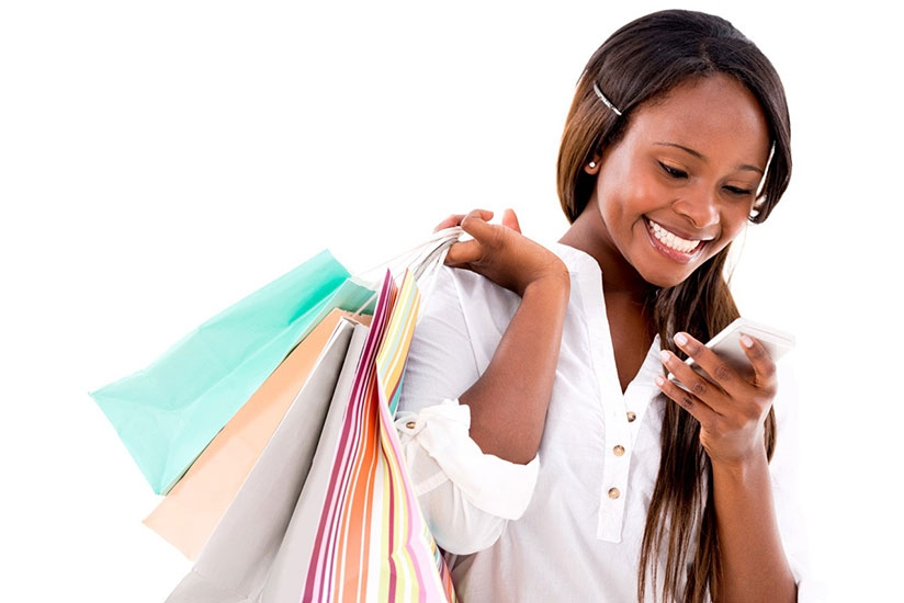 Shopping can be exciting but spend within your means. (Net photo.)