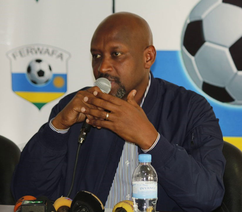 Former Amavubi captain Olivier Karekezi went as far as telling Nzamwita (pictured) to leave football entirely and go back to fish farming. / File