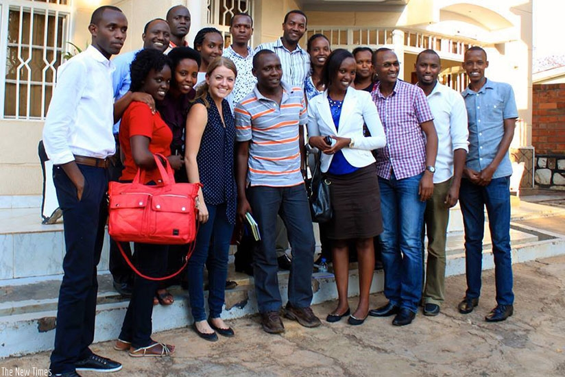 Some of the AERG staff team members.
