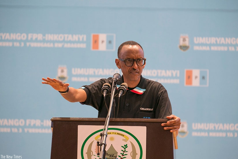 Empowering women is a responsibility, not a favour - Kagame | The New Times | Rwanda