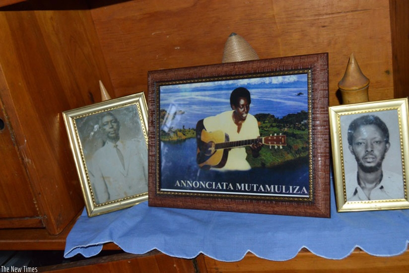 A portrait of Annonciata Mutamuliza, who was widely known as Kamariza. She died in 1996 in a fatal car accident.. Courtesy