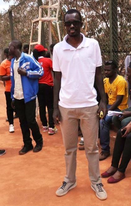 1502982024Jean Pierre Nshimiyimana is one of only two tennis coaches with a Level 1 coaching budge in Rwanda. File