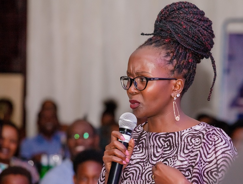1503932411Kansiime recieved a warm reception from comedy lovers who filled up the hall at Kigali Serena Hotel