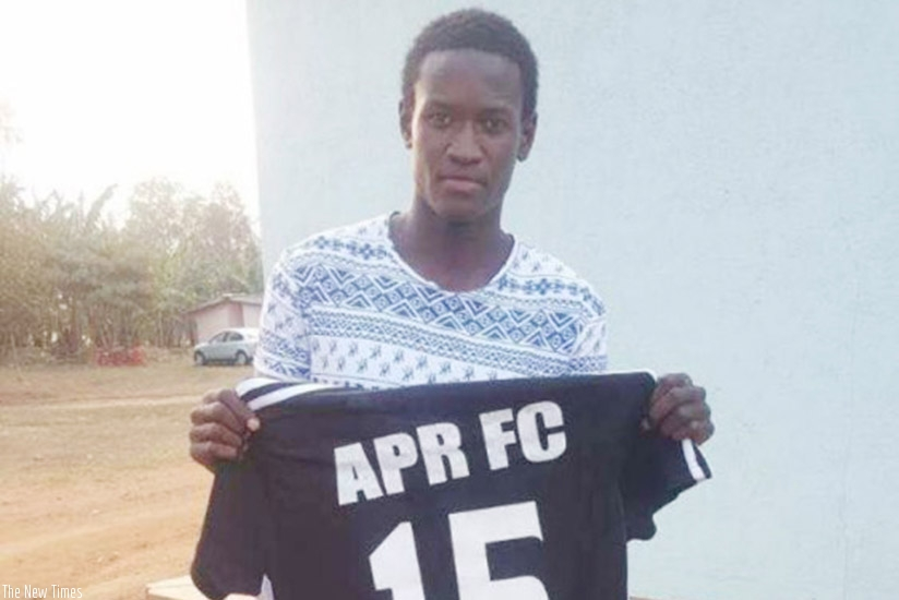 Rwandan international right full-back Fitina Omborenga will wear shirt number 15 at APR FC where he has signed a two-year contract until end of 2019. Courtsey