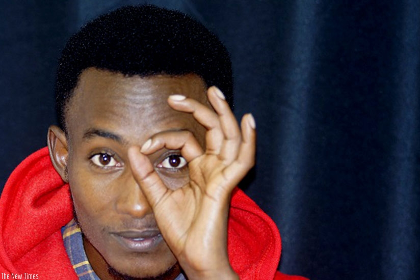 Emmanuel Mugisha aka Kibonge is a comedian, who doubles as a singer and actor. (Net)