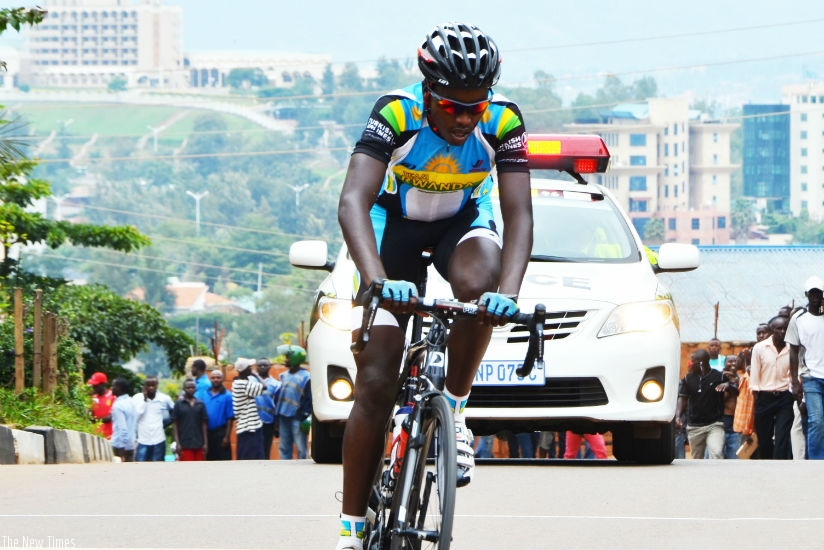 Former Team Rwanda captain Janvier Hadi, who retired in 2016, wants to come back in cycling after apologizing to the Rwanda Cycling Federation. / Sam Ngendahimana