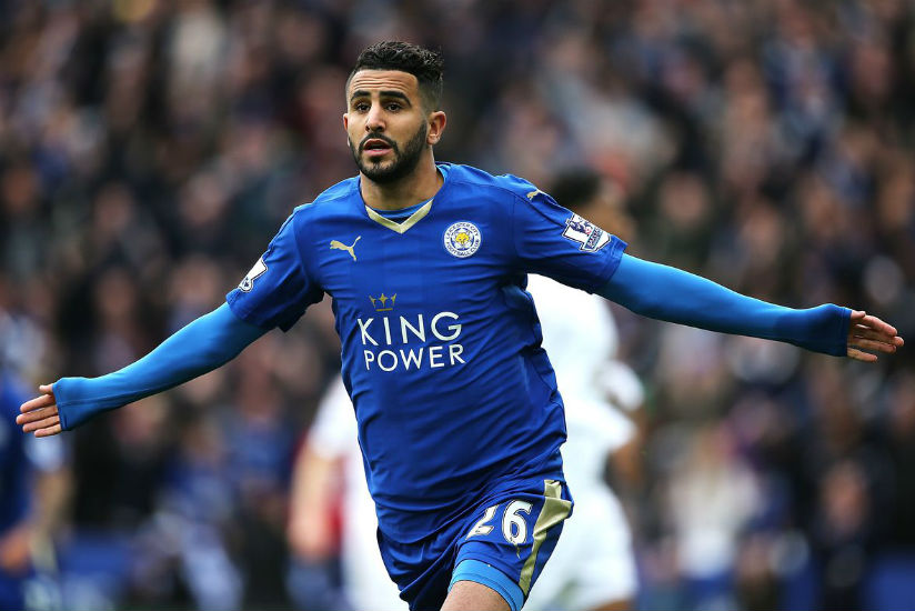 Reigning African Player of the Year Riyad Mahrez of Algeria failed to make the 30-nominee list of contenders announced Wednesday for the 2017 award. / Internet photo