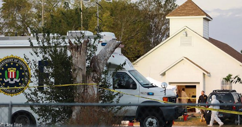 The shooting at a Texas Church left over 26 dead. (Net photo)