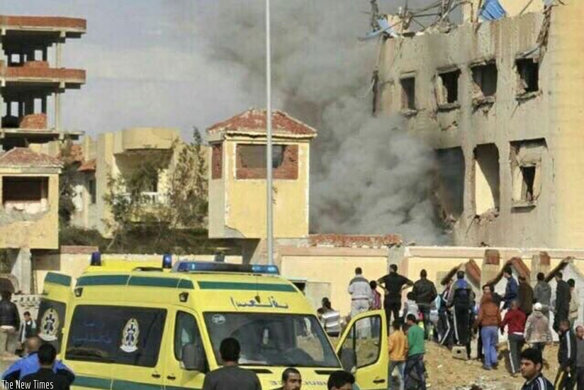 Egypt declared 3 days of national mourning following Sinai mosque attack. (Net photo)