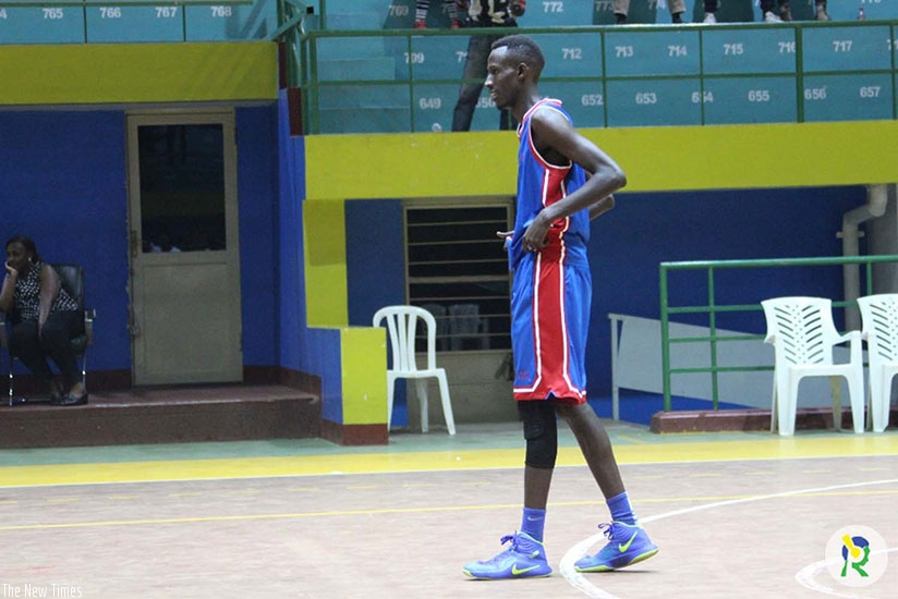 IPRC-Kigali's Bruno Nyamwasa is one of the youngsters to watch this season. File.