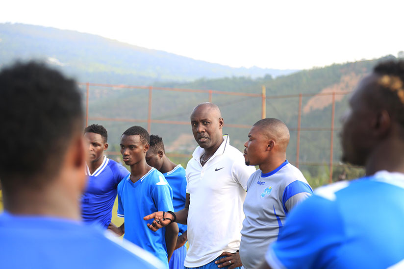 1513025190Rayon-Sports-head-coach-Olivier-Karekezi-and-his-assistant-Marcel-Lomami