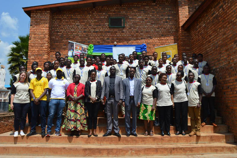 The 9th edition of Imbuto's holiday camp which is held for students under the Edified Generation programme, is held annually in Huye. / Courtesy
