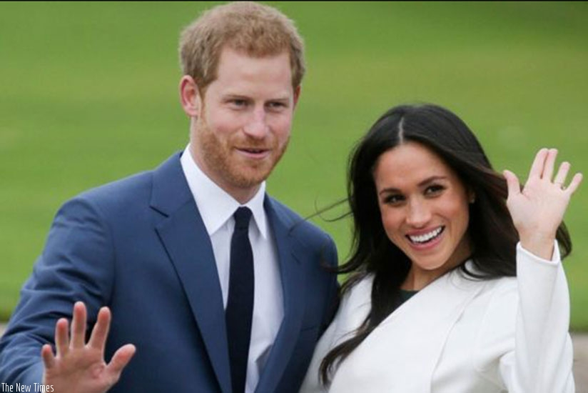 Britain's Prince Harry and actress Meghan Markle will marry on May 19 at St George's Chapel in Windsor Castle near London (Net Photo)
