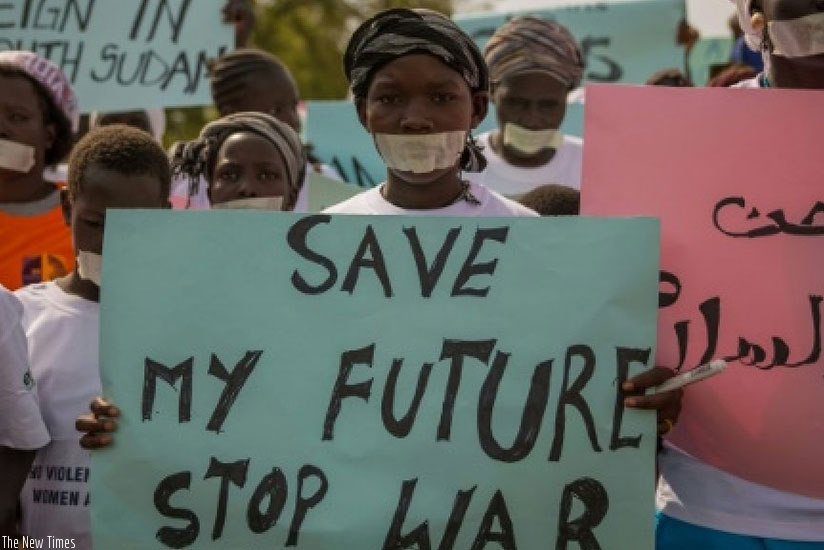 The conflict in South Sudan has continued to cause great suffering (Net photo)