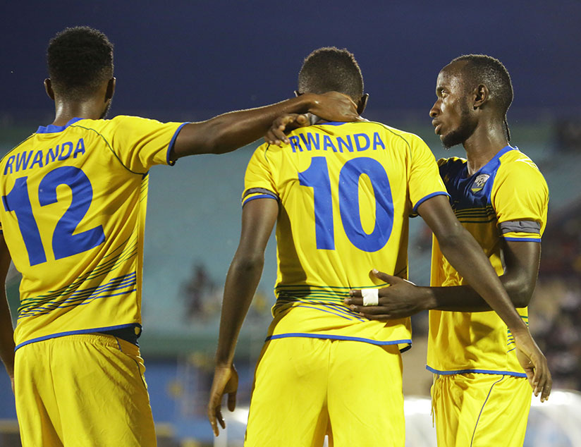 Amavubi jumped up by 7 places from 120th to 113th in the latest Coca Cola FIFA Rankings. / Sam Ngendahimana