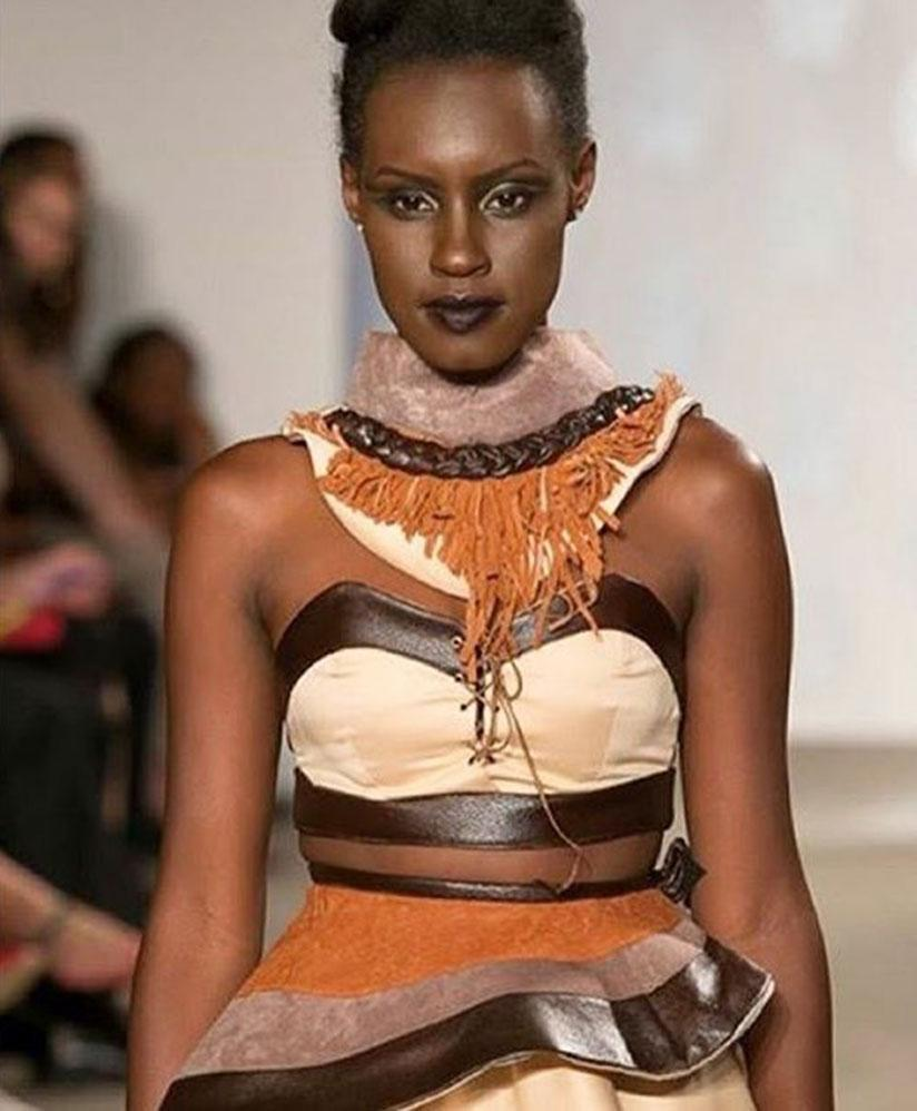 Fiona Muthoni Naringwa, the first runner up at Miss Africa 2017.
