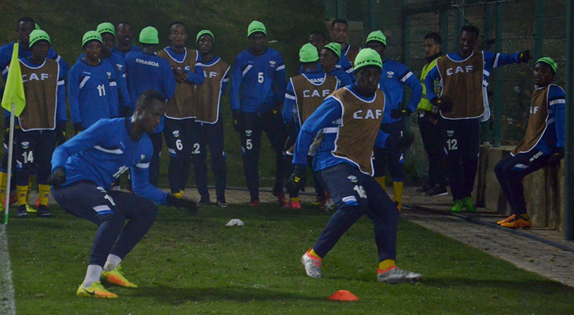 During the ten-day training camp in Tunisia ahead of the of CHAN finals tournament, Amavubi failed to win a single friendly match. / Courtesy