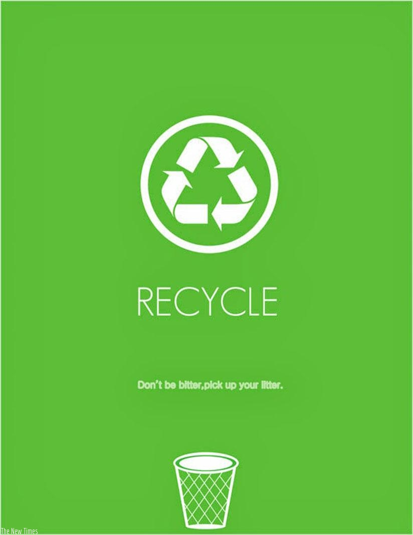 Recycling is good for the environment (Net photo)