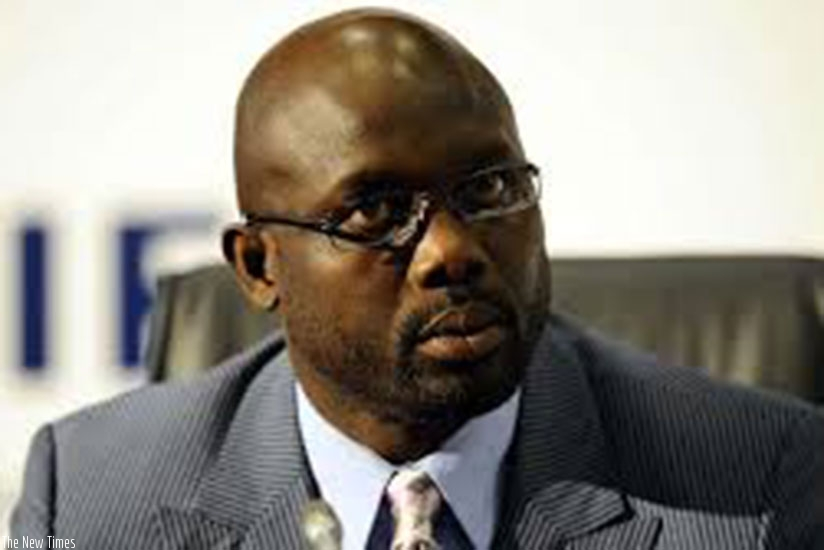 Weah entered politics after retiring from football in 2002. (Net photo)