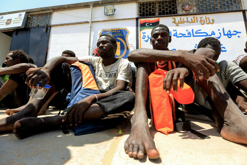 At slave auctions, Libya smugglers are selling off migrants for as little as $400. / Internet photo