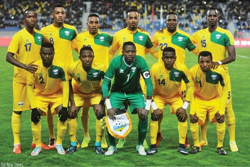 The starting XI did not include a natural striker and negative tactics meant Amavubi were on the back foot all night. (Courtesy)