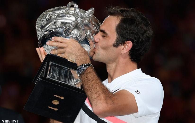 Roger Federer captured his 20th Grand Slam singles title, beating Marin Cilic in a tense, back-and-forth Australian Open final (Net photo)