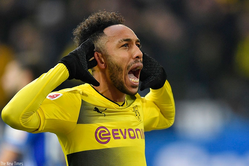Pierre-Emerick Aubameyang fee nearly agreed between Arsenal and Borrusia Dortmund. (Net photo)