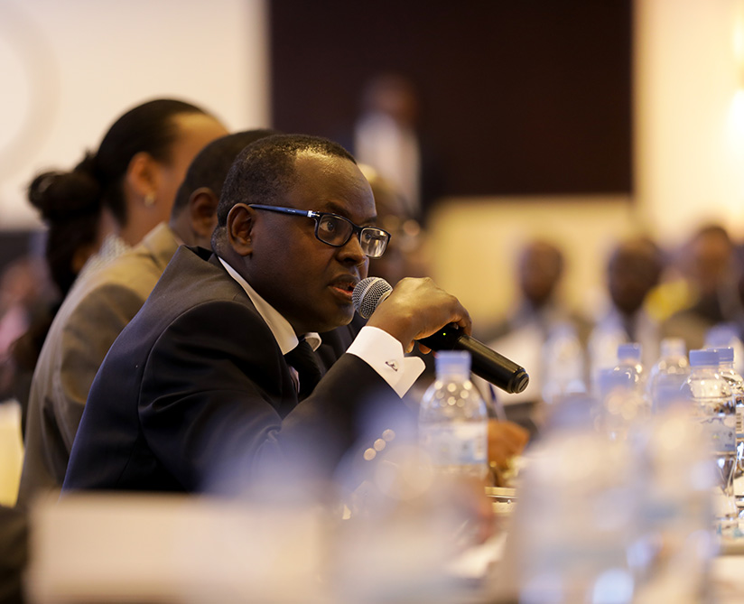 1520402881The-president-of-the-Association-of-Insurers-in-Rwanda,-Gaudens-Kanamugire-speaks-about-Insurance-at-the-meeting