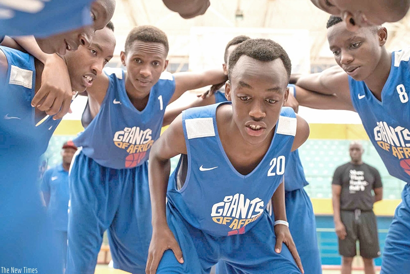 The championship is a school-based basketball programme for boys and girls aged between 10 and 14 years. File photo.