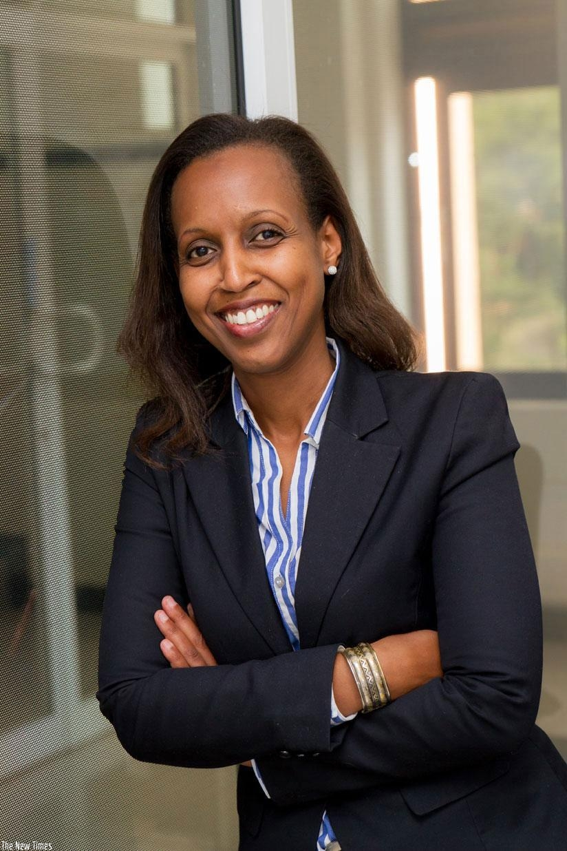 Betty Sayinzoga, Chief Executive Officer of Saham Assurance Vie Rwanda. (Courtesy)